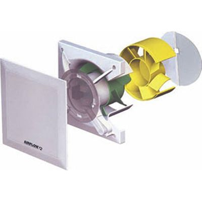 Airflow Qt100mst Quiet Air Extractor Fan With Motion